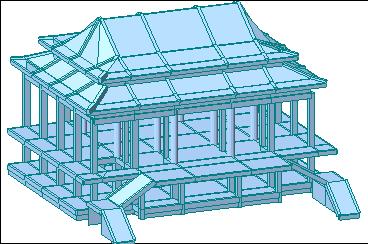 小港區五雷宮結構分析