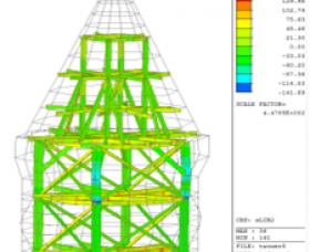 維格餅屋頂鋼構分析檢核