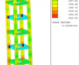 谷佳橋組立重型支撐應力檢核