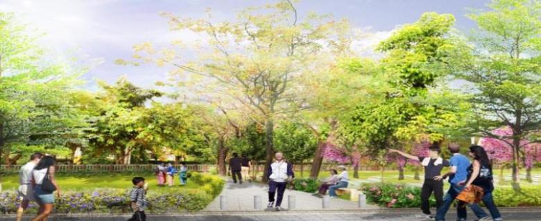 龍頸溪周邊人行步道暨自行車道監造