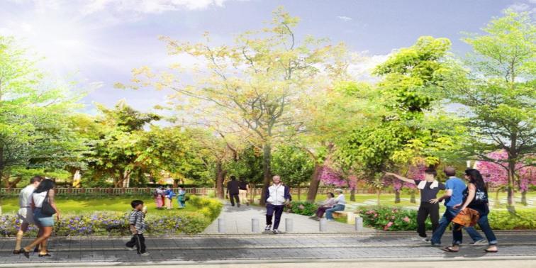 設計監造-龍頸溪周邊人行步道暨自行車道監造